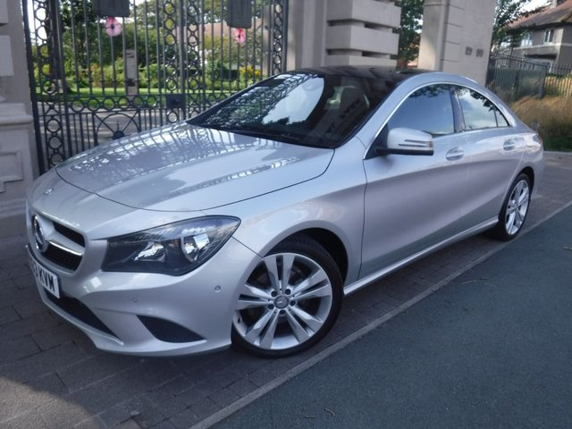 USED 2013 63 MERCEDES-BENZ CLA 1.6 CLA180 SPORT 4d 122 BHP *FINANCE ARRANGED*PART EXCHANGE WELCOME*ELECTRIC PANORAMIC ROOF*SAT NAV*BLUETOOTH