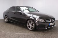 USED 2014 64 MERCEDES-BENZ C CLASS 2.1 C220 BLUETEC AMG LINE PREMIUM PLUS PAN ROOF 4DR AUTO SAT NAV HEATED LEATHER 170 BHP FULL MERCEDES SERVICE HISTORY + £30 12 MONTHS ROAD TAX + HEATED LEATHER SEATS + SATELLITE NAVIGATION + ACTIVE PARK ASSIST + REVERSE CAMERA + PANORAMIC ROOF + BLUETOOTH + CRUISE CONTROL + CLIMATE CONTROL + MULTI FUNCTION WHEEL + DAB RADIO + ELECTRIC/MEMORY SEATS + XENON HEADLIGHTS + ELECTRIC WINDOWS + ELECTRIC MIRRORS + 18 INCH ALLOY WHEELS