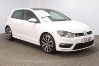 USED 2016 16 VOLKSWAGEN GOLF 2.0 R LINE EDITION TDI BMT DSG 5DR SAT NAV 1 OWNER AUTO 148 BHP VW SERVICE HISTORY + £30 12 MONTHS ROAD TAX + SATELLITE NAVIGATION + ELECTRIC SUNROOF + PARKING SENSOR + BLUETOOTH + CRUISE CONTROL + AIR CONDITIONING + MULTI FUNCTION WHEEL + RADIO/CD/AUX/USB + DAB RADIO + PRIVACY GLASS + ELECTRIC WINDOWS + ELECTRIC MIRRORS + 18 INCH ALLOY WHEELS