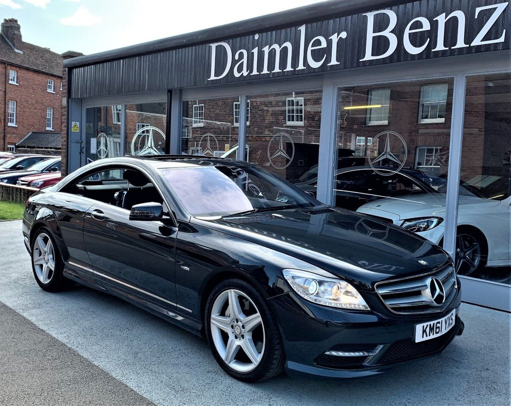 USED 2012 61 MERCEDES-BENZ CL 4.7 CL500 BLUEEFFICIENCY 2d AUTO 435 BHP