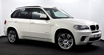 2012 BMW X5 3.0 30d M Sport xDrive 5dr £16995.00