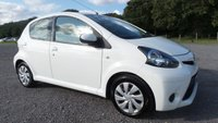 USED 2013 63 TOYOTA AYGO 1.0 VVT-I MOVE 5d 68 BHP SATELITE NAVIGATION, AIR-CONDITIONING, CD-PLAYER, REMOTE LOCKING, LOW TAX BAND, SUPERB MPG, ELECTRIC WINDOWS, WHITE, LOW INSURANCE, IDEAL 1ST CAR
