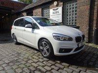 2015 BMW 2 SERIES 1.5 216D SPORT GRAN TOURER 5d 114 BHP AUTOMATIC £13995.00