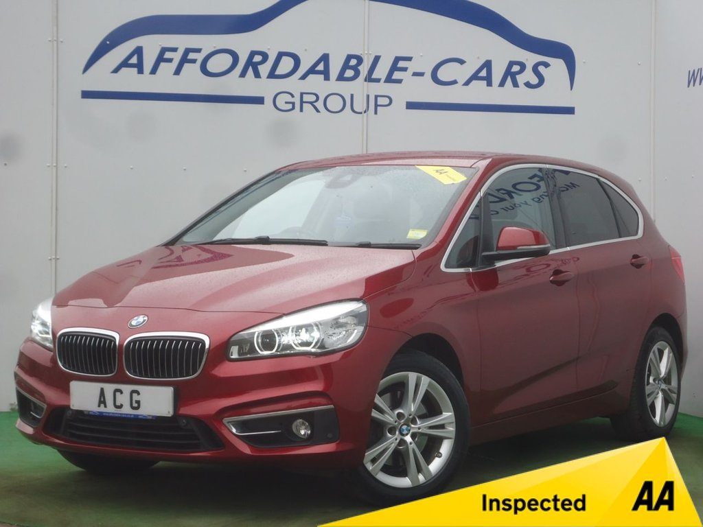 USED 2015 15 BMW 2 SERIES 2.0 220D XDRIVE LUXURY ACTIVE TOURER 5d AUTO 188 BHP