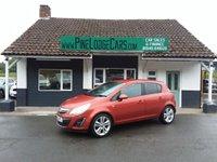 2012 VAUXHALL CORSA 1.4 SE 5d 98 BHP £4495.00