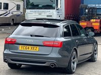 USED 2014 64 AUDI A6 2.0 TDI ultra Black Edition S Tronic 5dr PanRoof/BOSE/PrivacyGlass/DAB