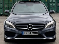USED 2014 64 MERCEDES-BENZ C CLASS 2.1 C220 CDI BlueTEC AMG Line G-Tronic+ (s/s) 4dr ReverseCam/Keyless/Cruise/DAB