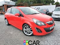 USED 2013 13 VAUXHALL CORSA 1.4 SRI 3d 98 BHP PART EX TO CLEAR + TRADE SALE