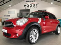 2014 MINI COUNTRYMAN 2.0 COOPER D ALL4 5d AUTO 110 BHP £8495.00