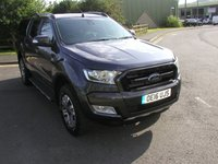 USED 2016 16 FORD RANGER 3.2 WILDTRAK 4X4 DCB TDCI 1d 197 BHP Crewcab Pickup - SOLD SATNAV, Load Canopy, 46000 miles, Air Con