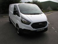 USED 2018 68 FORD TRANSIT CUSTOM 2.0 300 BASE P/V L1 H1 1d 104 BHP Van - SOLD 37000 miles, Service HIstory, 1 Owner, Manufacturers Warranty