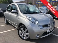 USED 2010 60 NISSAN MICRA 1.2 N-TEC 5d AUTO 80 BHP SMALL AUTOMATIC + LOW MILEAGE