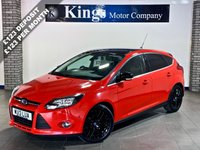 USED 2013 13 FORD FOCUS 1.0 ZETEC 5dr  App Pack £20 Tax, SAT NAV, Parks Itself !! , Gloss Black Alloys & Roof