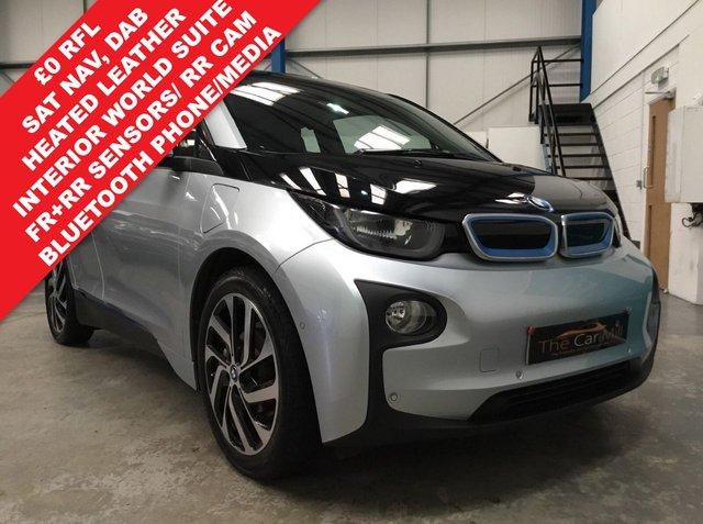 2014 64 BMW I3 0.6 I3 RANGE EXTENDER 5d AUTO 168 BHP