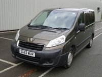 USED 2013 63 PEUGEOT EXPERT 2.0 TEPEE COMFORT L1 HDI 5d AUTO WHEELCHAIR ACCESS WAV 5 SEATS + WHEELCHAIR ACCESSIBLE VEHICLE