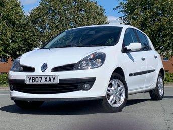 2007 RENAULT CLIO 1.6 DYNAMIQUE VVT 5d AUTO 110 BHP £3495.00