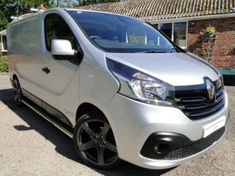 2016 RENAULT TRAFIC SL27 DCI Sport PVSsportline Edition  £10495.00