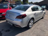 USED 2014 64 PEUGEOT 508 2.0 BLUE HDI ALLURE 4d 150 BHP HUGE SPEC FACELIFT MODEL, SAT NAV, BLUETOOTH, HALF LEATHER, SUPPLIED WITH A NEW MOT
