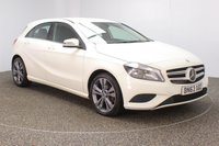 USED 2013 63 MERCEDES-BENZ A CLASS 1.5 A180 CDI BLUEEFFICIENCY SE 5DR SAT NAV HALF LEATHER FULL SERVICE HISTORY + HALF LEATHER SEATS + SATELLITE NAVIGATION + BLUETOOTH + MULTI FUNCTION WHEEL + AIR CONDITIONING + RADIO/CD/USB + ELECTRIC WINDOWS + ELECTRIC MIRRORS + 16 INCH ALLOY WHEELS