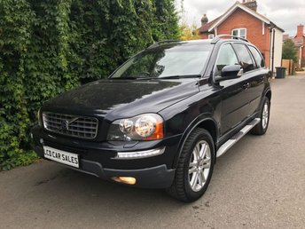 2009 VOLVO XC90 2.4 D5 SE PREMIUM AUTOMATIC AWD - FULL VOLVO SERVICE HISTORY -  SATELLITE NAVIGATION, REAR ENTERTAINMENT, ELECTRIC SUNROOF, ELECTRIC MEMORY DRIVER & PASSENGER SEATS, HEATED SEATS, REAR PRIVACY GLASS, PARKING SENSORS £9990.00