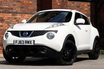 2013 NISSAN JUKE 1.6 DIG-T Tekna CVT 4WD 5dr £8477.00
