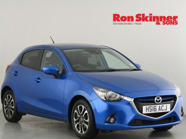 View our 2016 16 MAZDA 2 1.5 SPORT NAV 5d 89 BHP
