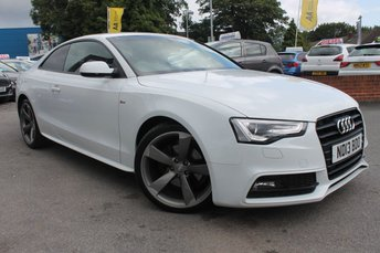 2013 AUDI A5 2.0 TDI BLACK EDITION 2d 177 BHP £11861.00