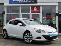 USED 2015 15 VAUXHALL ASTRA 1.4 GTC SRI S/S 3d 140 BHP Stunning, VAUXHALL ASTRA  GTC 1.4 Turbo SRI 140 BHP. Finished in SUMMIT WHITE with contrasting grey cloth interior. This practical family hatch is enjoyable to drive and has a good level of equipment in its well designed interior. Features include Alloys, DAB, B/Tooth, Climate, 2 keys and much more.  HPI checked & clear & full service history at the following miles, 10561 miles, 22352 miles, 38871 miles, 52662 miles, 56707 miles,