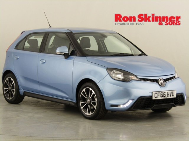 View our 2017 66 MG 3 1.5 3 STYLE LUX VTI-TECH 5d 106 BHP