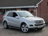 2010 MERCEDES-BENZ M CLASS ML350 CDI BLUEEFFICIENCY SPORT (AUTO) 5dr £10490.00
