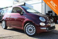 USED 2016 16 FIAT 500 1.2 LOUNGE DUALOGIC 3d AUTO 69 BHP VIEW AND RESERVE ONLINE OR CALL 01527-853940 FOR MORE INFO.