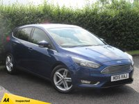 USED 2015 15 FORD FOCUS 1.6 TITANIUM TDCI 5d * FULL SERVICE HISTORY * FORD BLUETOOTH SYNC *