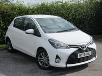 USED 2015 15 TOYOTA YARIS 1.3 VVT-I ICON 5d * BUILT IN NAVIGATION SYSTEM *