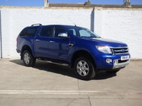 2014 FORD RANGER 2.2 LIMITED 4X4 DCB TDCI 1d AUTO 148 BHP £11988.00