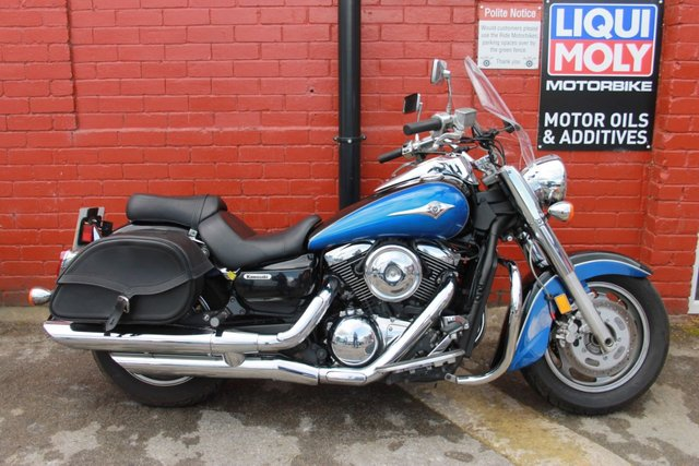 USED 2008 57 KAWASAKI VN 1600 Classic A Big Comfy Low Mileage Cruiser, Finance And Delivery Available
