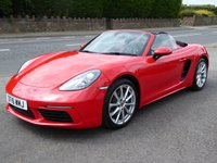 USED 2016 16 PORSCHE 718 BOXSTER 2.0 BOXSTER 2d 295 BHP Stunning example! Finance options available