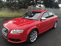 2006 AUDI A4 4.2 S4 QUATTRO 51000 miles 2 former keepers full specialist history last owner 5 years  £7995.00