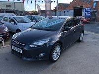 USED 2012 62 FORD FOCUS 1.0 ZETEC 5d 124 BHP *** 12 MONTHS WARRANTY! ***