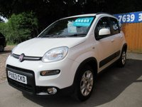 USED 2013 63 FIAT PANDA 0.9 TWINAIR TREKKING 5d 85 BHP VERY CLEAN CAR WITH FSH
