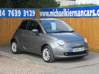 2009 FIAT 500 1.2 SPORT 3d 69 BHP £4195.00