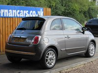 USED 2009 09 FIAT 500 1.2 SPORT 3d 69 BHP 1 LADY OWNER
