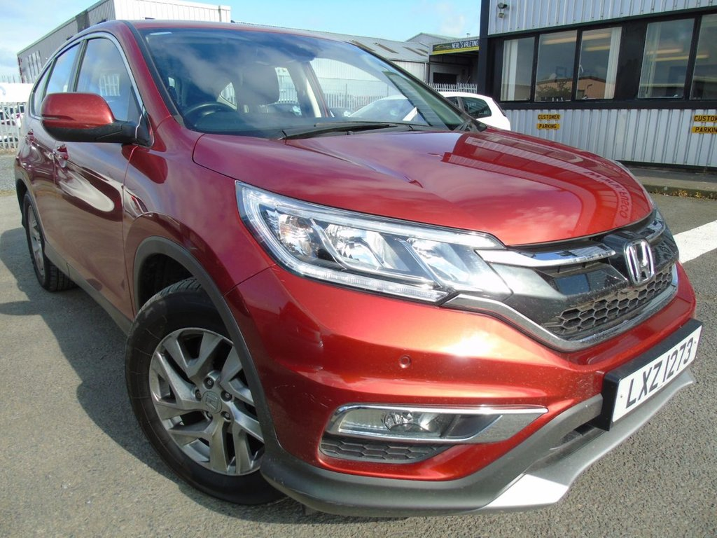 USED 2016 HONDA CR-V 1.6 SE I-DTEC 4X2 £202 a month, T&Cs apply.