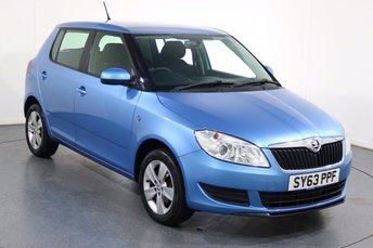 2013 SKODA FABIA 1.2 SE 12V 5d 68 BHP £4995.00