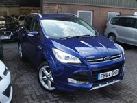 USED 2015 64 FORD KUGA 2.0 TITANIUM X SPORT TDCI 5d AUTO 177 BHP EURO 6 ANY PART EXCHANGE WELCOME, COUNTRY WIDE DELIVERY ARRANGED, HUGE SPEC