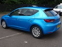USED 2015 65 SEAT LEON 1.6 TDI ECOMOTIVE SE TECHNOLOGY 5d 110 BHP £2000 OF UPGRADES ,PARK PILOT WITH CAMERA NAVIGATION 1 OWNER FSH