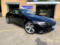 2010 BMW 6 SERIES 3.0 635D SPORT 2d AUTO FULL BMW HISTORY, ONLY 1 FORMER KEEPER £10990.00