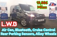 2016 FORD TRANSIT CONNECT 1.6 TDCi 240 LIMITED Long Wheel Base in Black with LOW MILEAGE (19,886) Air Conditioning, Cruise Control, Bluetooth, Alloy Wheels, Rear Parking Aid, DAB Digital Radio and more £10980.00