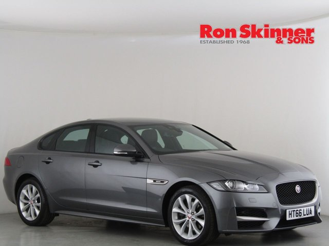 View our 2017 66 JAGUAR XF 2.0 R-SPORT 4d AUTO 177 BHP