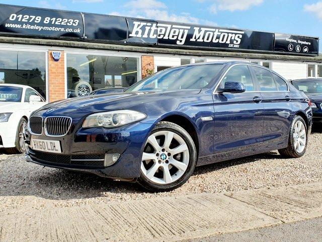 2010 60 BMW 5 SERIES 520d SE AUTOMATIC PROFESSIONAL NAVIGATION/MEDIA PACK