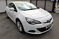 USED 2013 13 VAUXHALL ASTRA 1.4 GTC SRI S/S 3d 138 BHP * ONE OWNER - FULL HISTORY *